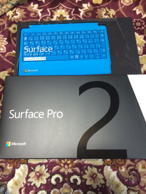 Surface Pro 2 キタ