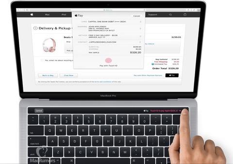 新型「MacBook Pro」