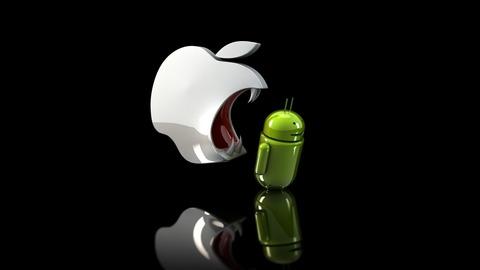 iPhoneが世界中でAndroidから急激にシェアを奪っている