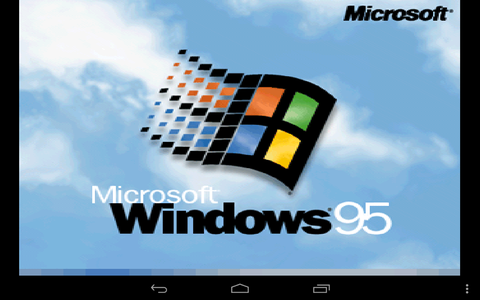 Nexus7にWindows95