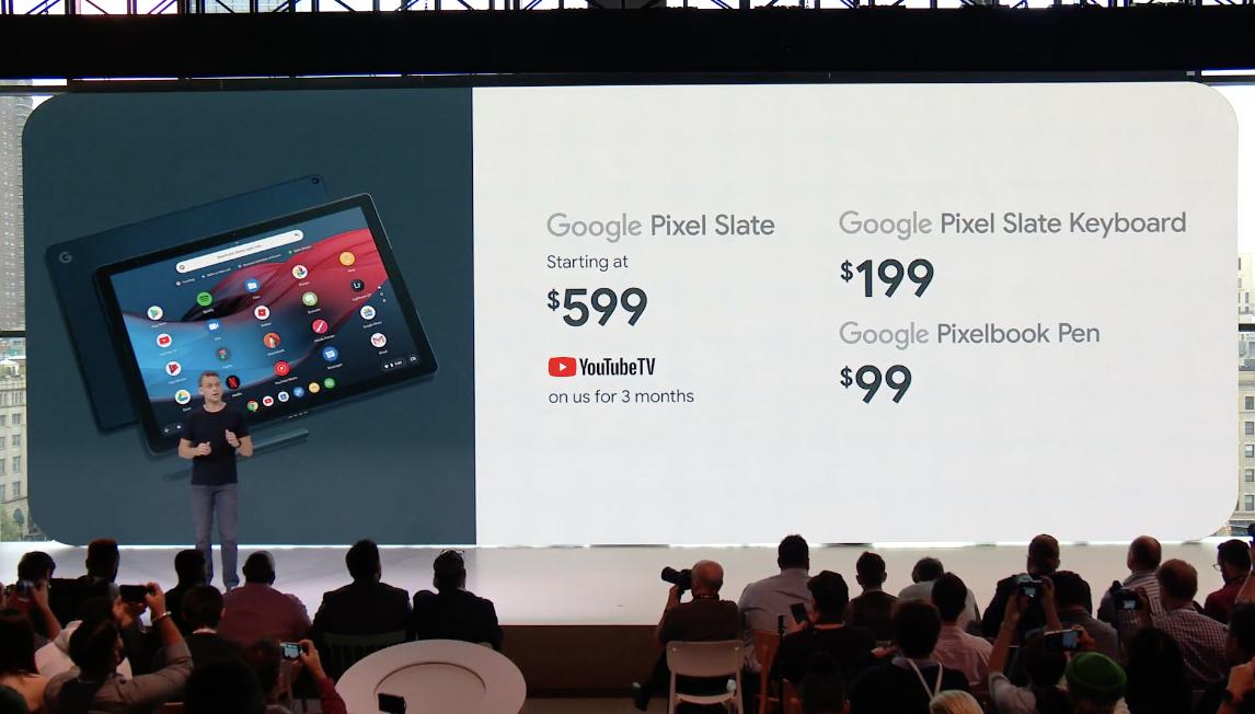 Google、Chrome OS搭載タブレット「Pixel Slate」を発表。2018年後半 ...