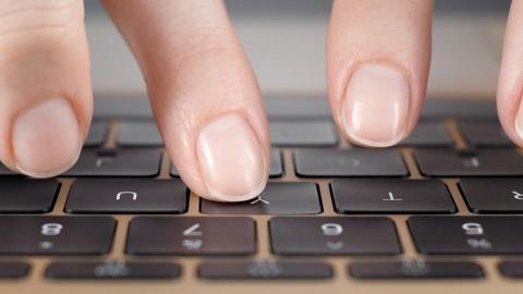 キー無しまっ平らなキーボード