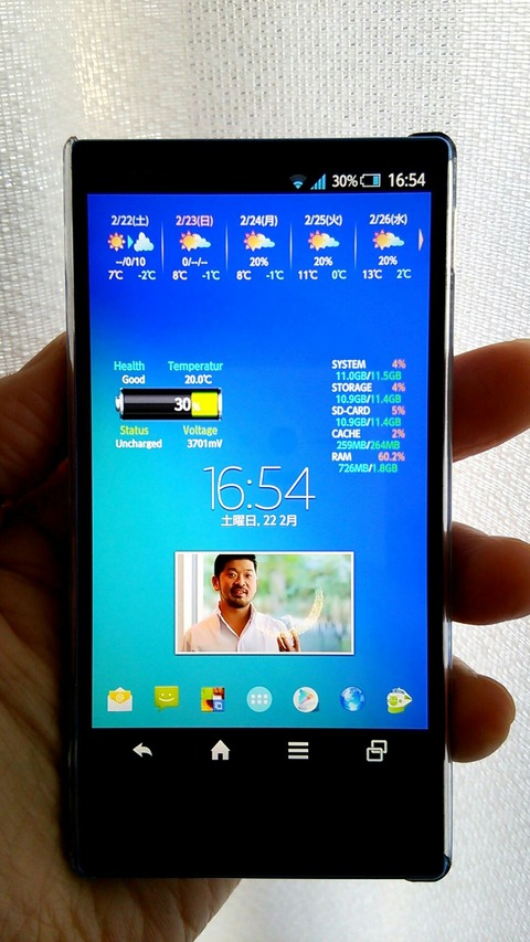 AQUOS PHONE SERIE mini 7