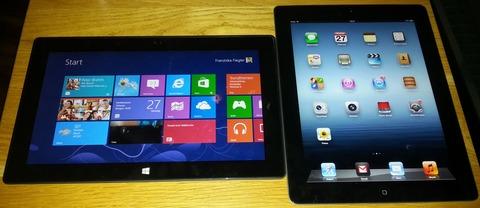 今のiPadは、Windowsタブレットにかなり負けている