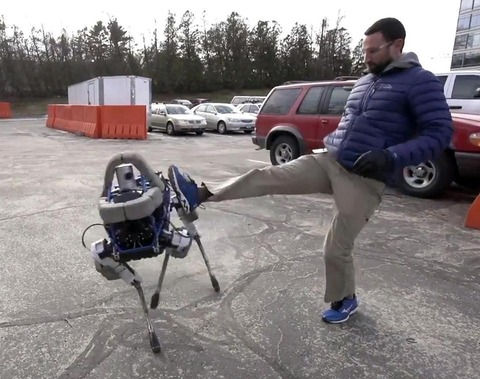 小型犬ロボット