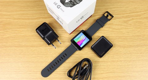 LG G Watch Unboxing