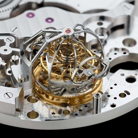 【画像】高級時計の内部複雑すぎワロタwwwwww