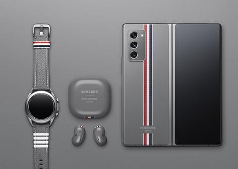 サムスン、折りたたみスマホ「Galaxy Z Fold2」のThom Browneモデルを11月4日に発売。価格は41万4700円