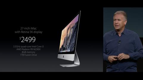 iMac Retina 5K ディスプレイモデル