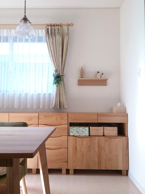 当初、壁に付けられる家具デビューしてみよう!と思い立った時に、 棚にするか長押にするかで悩んで。。  結果、まずは、奥行きのあるものも置けてオールマイティに使え ...