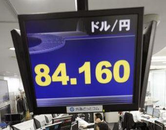 円安84円