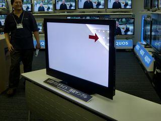 AQUOS LXシリーズに採用されたLEDバックライトのレイアウト