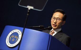 韓国大統領 竹島上陸