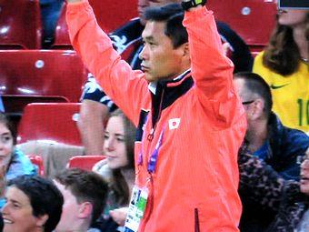 ロンドンオリンピック 女子サッカー ブラジル戦 佐々木監督
