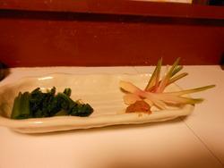 谷中しょうが小松菜