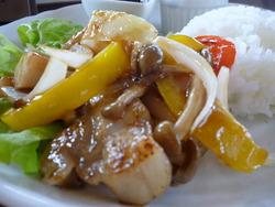 リンゴ酢 酢豚