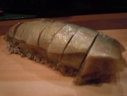 サバ寿司脂コク