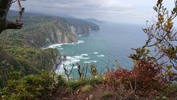 波が荒い積丹半島