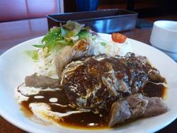 神戸ハンバーグ定食