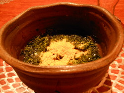 蕎麦 岩ノリ カラスミ