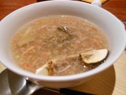 松茸 アワビふかひれ 蟹のスープ