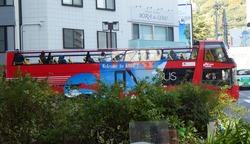二階建てバス 水陸両用