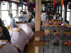 三鉄 こたつ列車2
