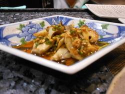 キノコ炒め物