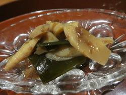 手製 姫竹の辛すぎない、後から少し 辛味がくる ご飯が進む