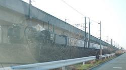 蒸気機関車 試運転