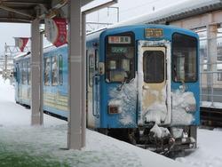 3002秋田内陸縦貫鉄道 (5) 列車 角館
