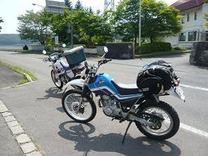 バイク2台