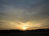 仙台の夕暮れ