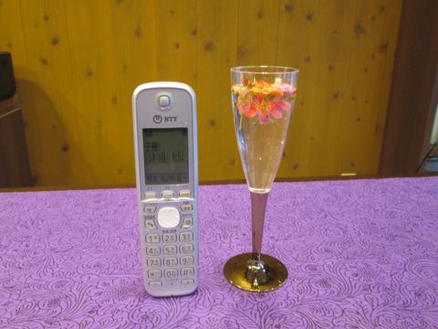 007グラスと電話