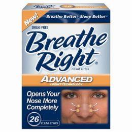 ブリーズライト・アドバンスド・鼻孔拡張テープ(クリアタイプ):26枚