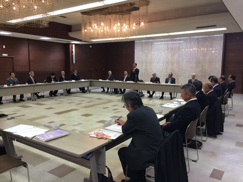 岩倉市商工会の小規模事業者支援の取り組みについて、尾張四市三町商工会議所・商工会懇談会にて報告しました。