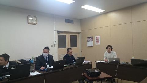 2月6日(月)Oka-Biz ITアドバイザーの先生を招いて内部研修会を実施しました!
