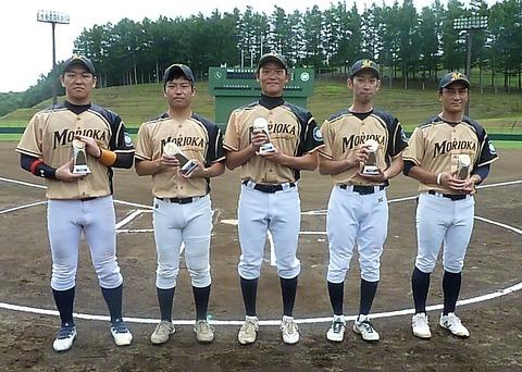 盛岡球友10年表彰 (2)