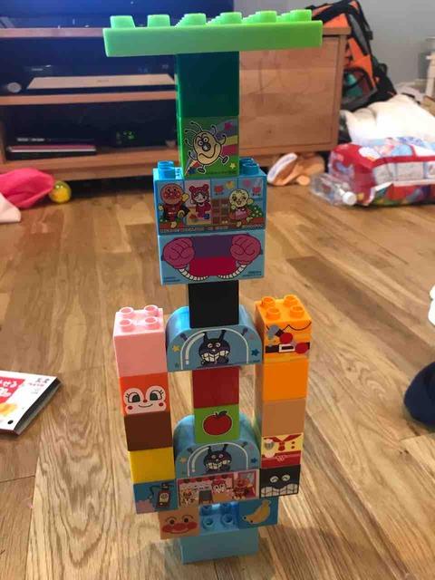 子供が作ったブロック