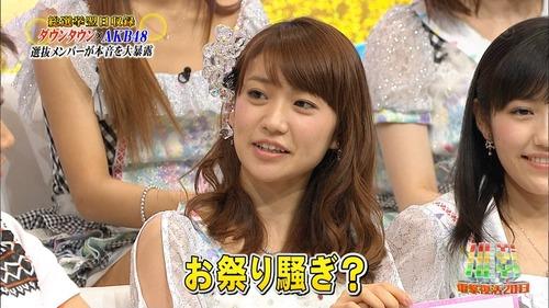 大島優子、総選挙一位なら脱いでたhey!hey!hey!2013年7月1日4
