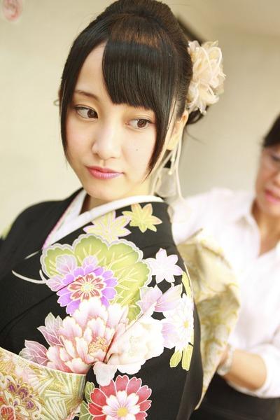 松井玲奈、和服