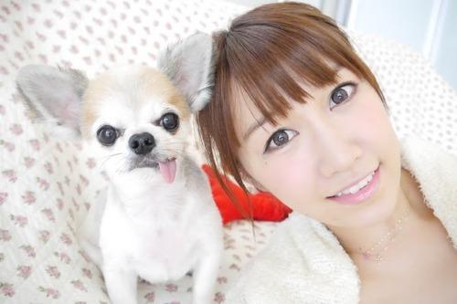 浦野一美、犬