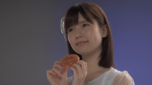 島崎遥香ぷるるんポンでリング、ミスタードーナツ7