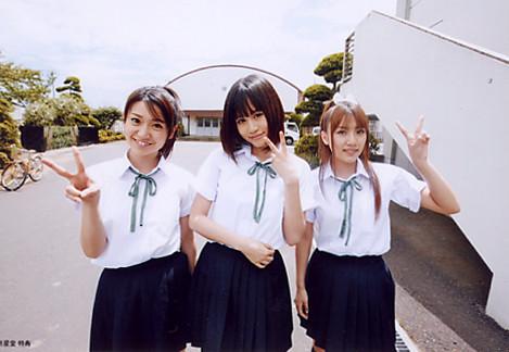 大島優子、前田敦子、高橋みなみ