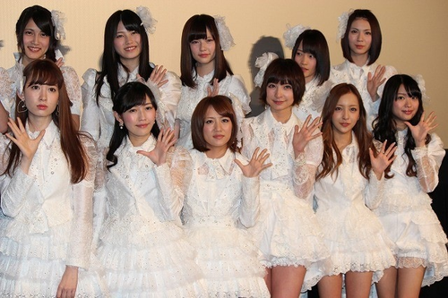 akb48白い衣装