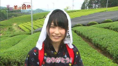 横山由依、ありがとう、茶畑