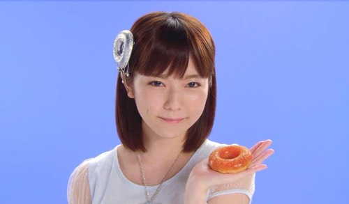 島崎遥香ぷるるんポンデリング、ミスタードーナツ