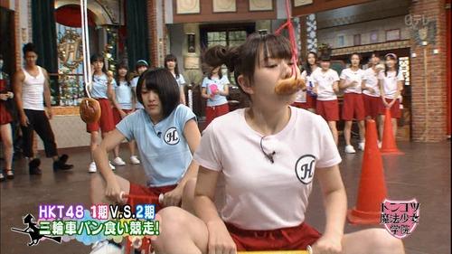 村重杏奈、トンコツ、おっぱい、パン食い