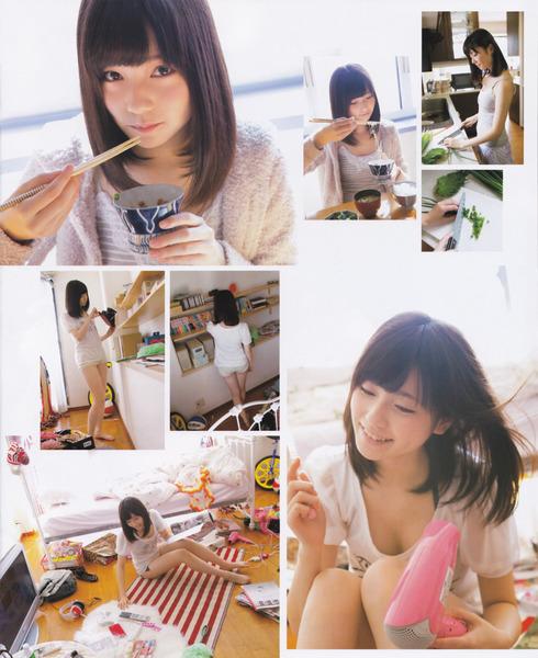 島崎遥香、納豆を食べたり