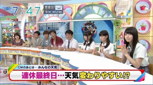 横山由依、テレビ、カメラ目線2